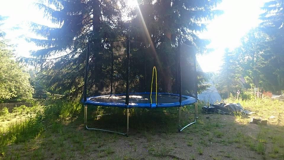 trampolina na hristi